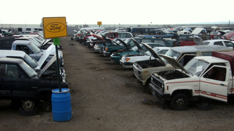 It is not exactly a junk yard anymore-jalopnik.com