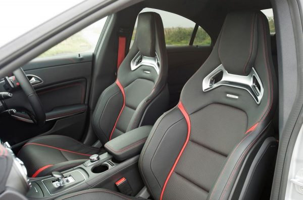 Mercedes CLA 45 AMG - seats - Autocar.co.uk